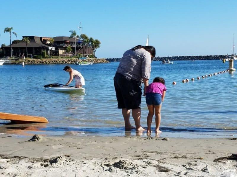 Dana Point Harbor Beach
