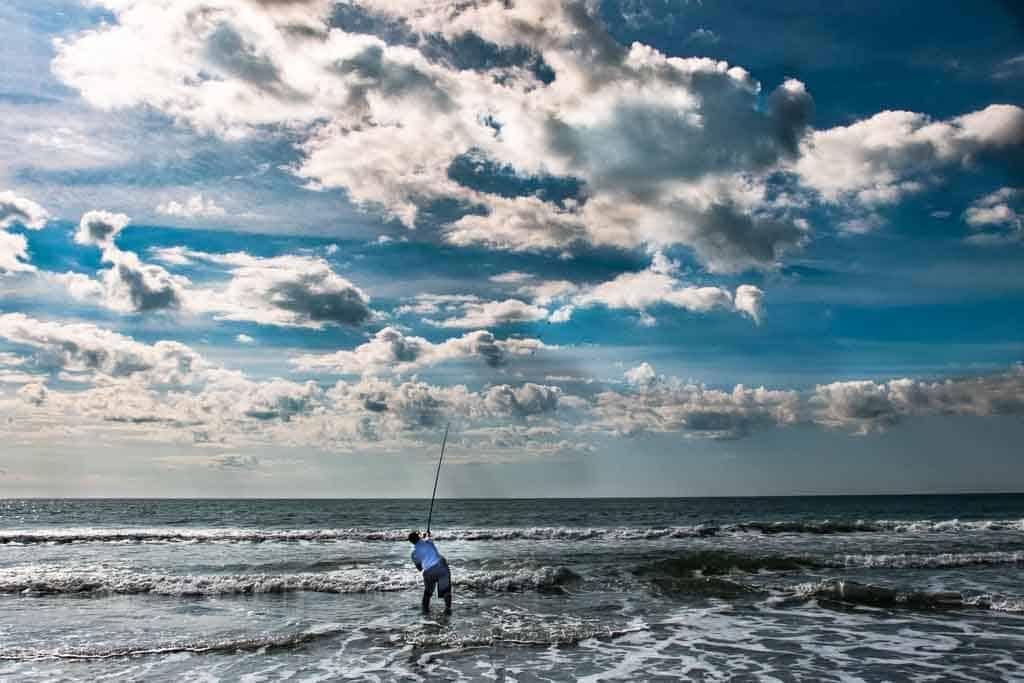 south carolina myrtle beach fisherman
