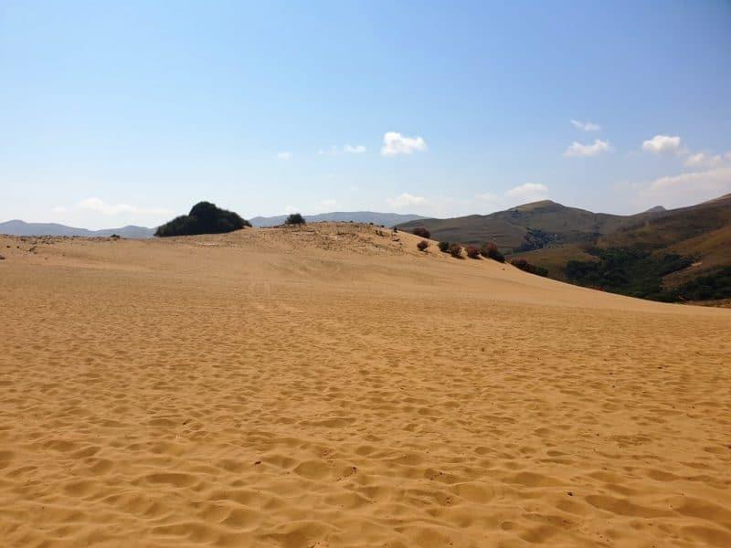 Sand Dunes in Lemnos