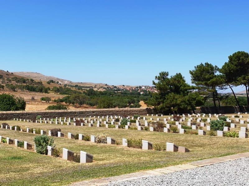 military cemeteries of Portianou