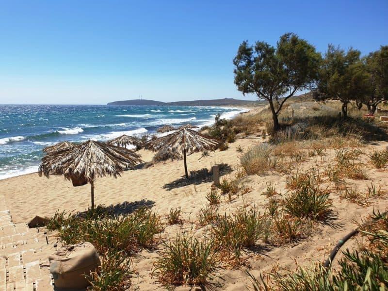 Kokkinos-Vrachos-Beach Lemnos