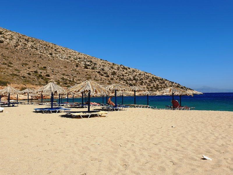 Ag Theodoti Beach in Ios