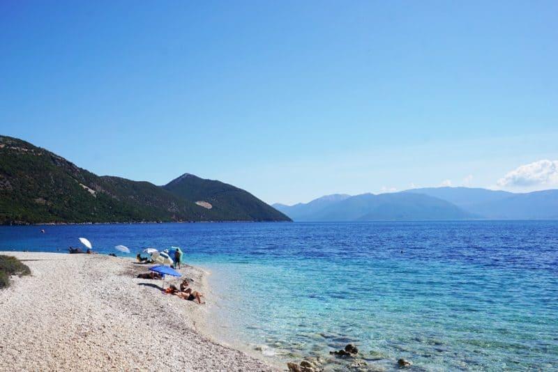 Agios Ioannis Beach Ithaca