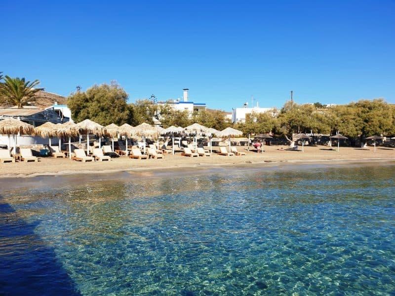 Azolimnos Beach in Syros