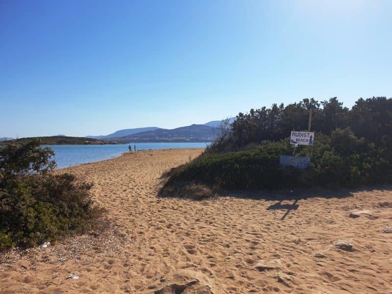 Camping Beach in Antiparos