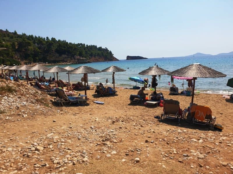 Chrissi Milia Beach Alonissos best beaches