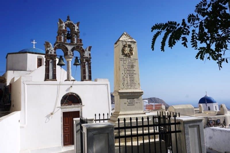 pyrgos village - things to do in Santorini