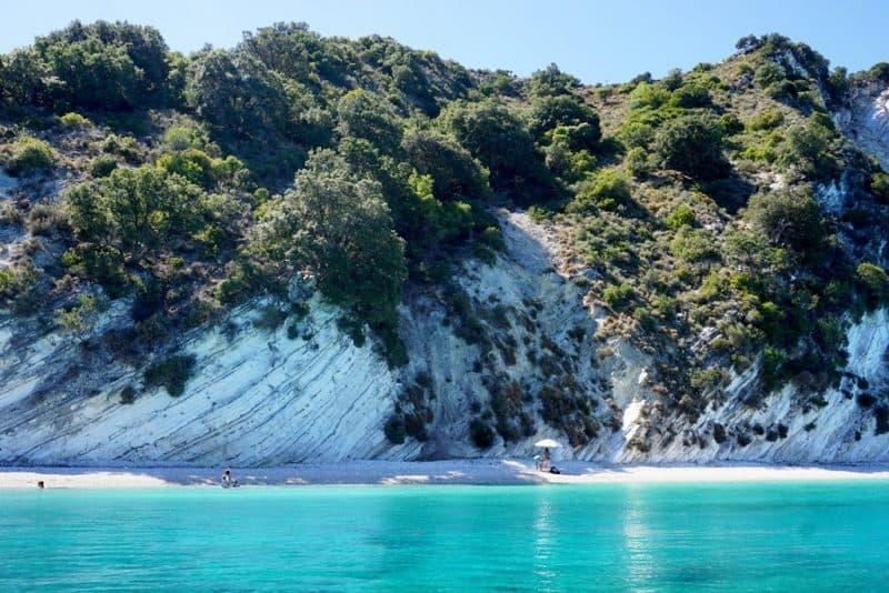 Gidaki Beach Ithaca Greece