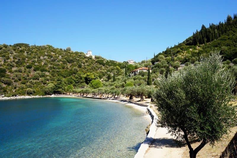 Dexa Beach Ithaca Greece