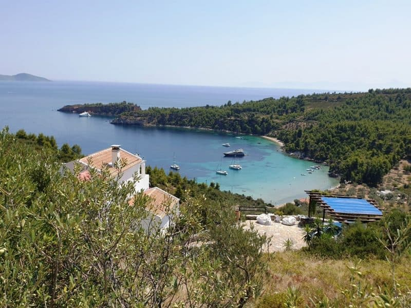 Georgie Yalos in Alonissos