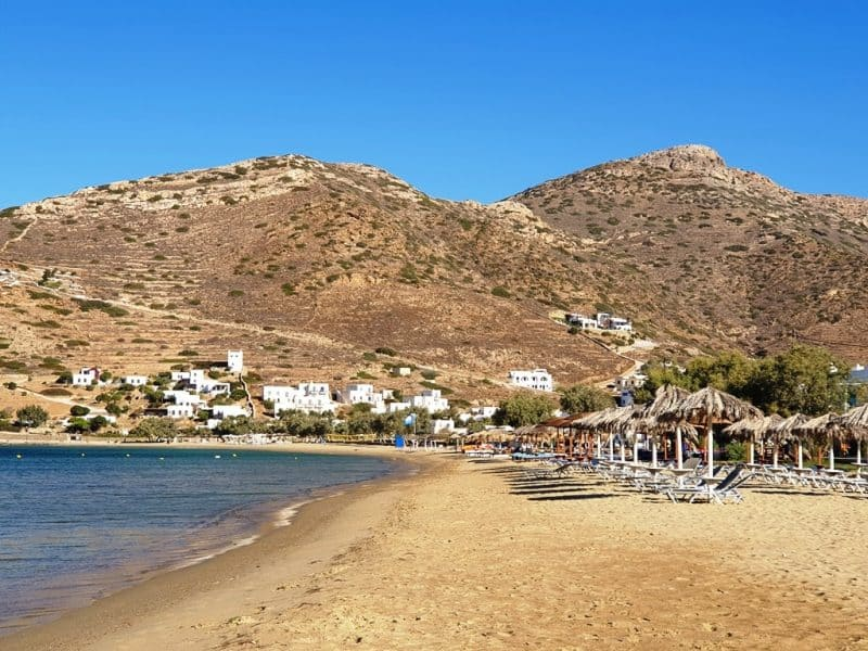 Gialos Beach in Ios