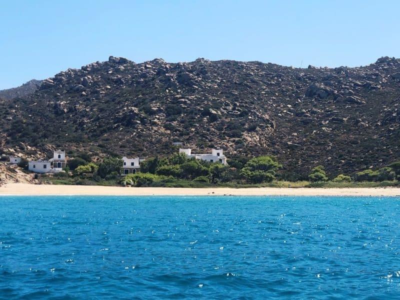 Klima Beach in Ios