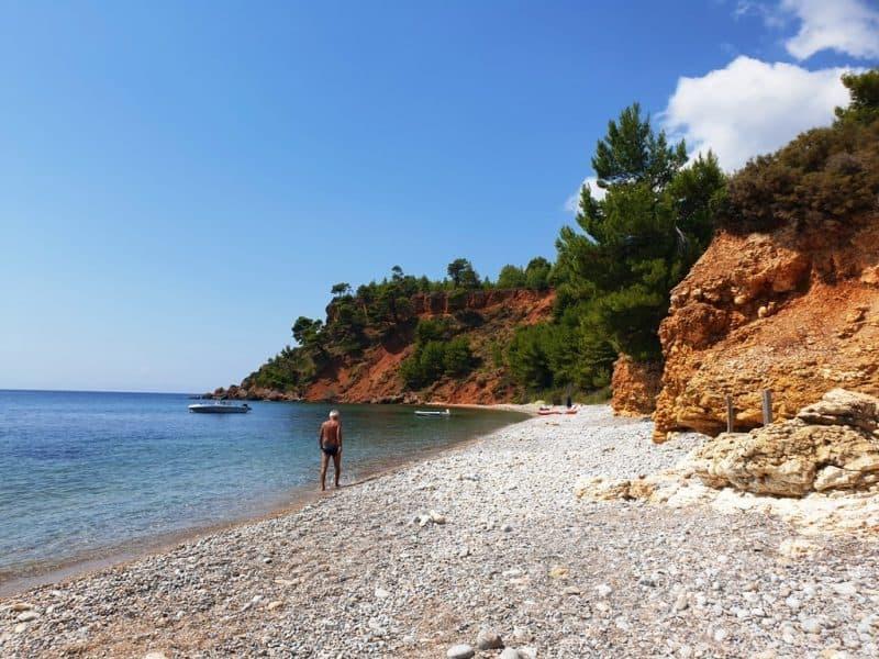 Kokkinokastro Beach Alonissos Greece
