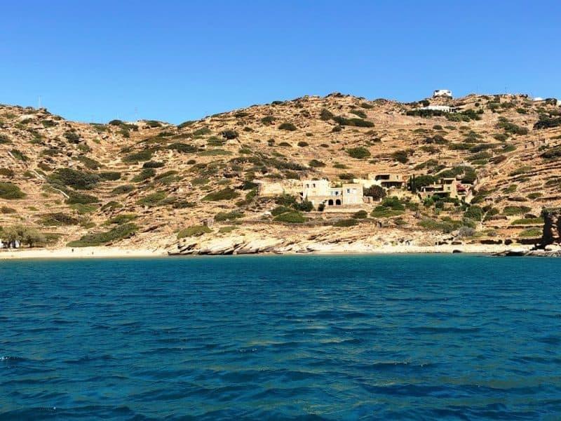 Kolitsani Beach in Ios