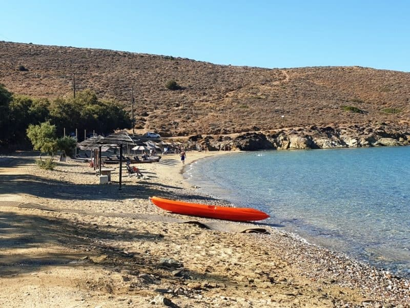 Komito Beach - beaches in Syros