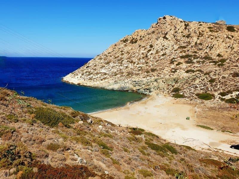 Loretzena Beach in Ios