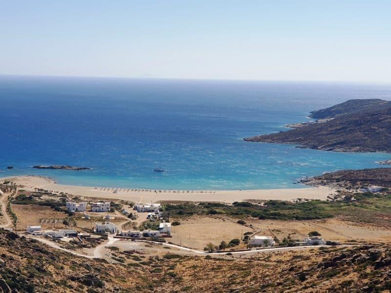 Manganari Beach in Ios