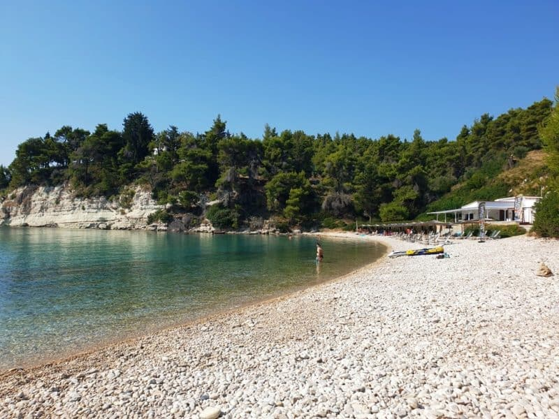 Milia Beach in Alonissos