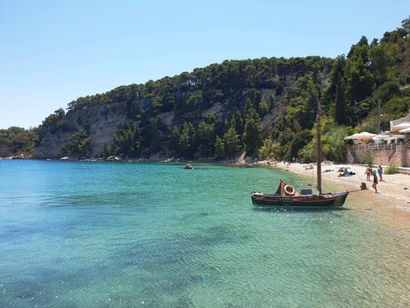 Patitiri Beach in Alonissos