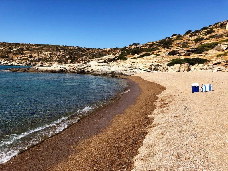 Pikro Nero Beach in Ios