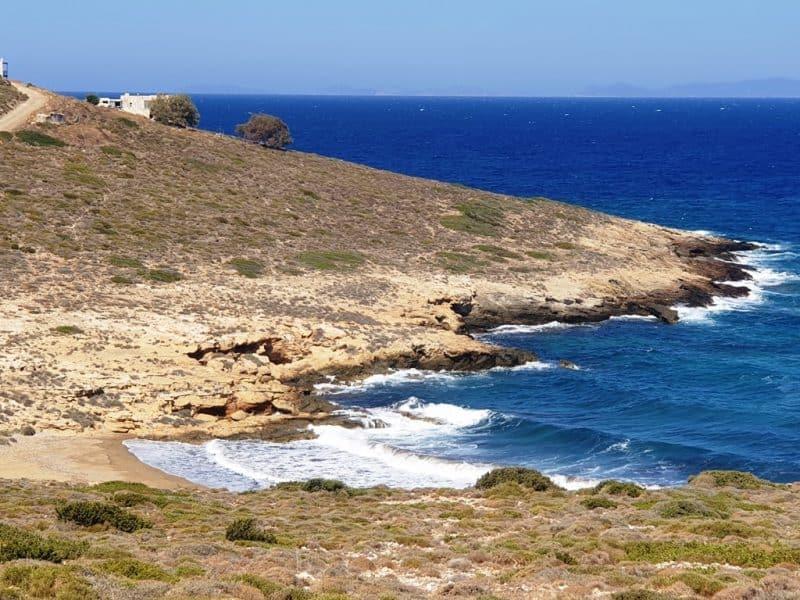 Plakoto Beach in Ios