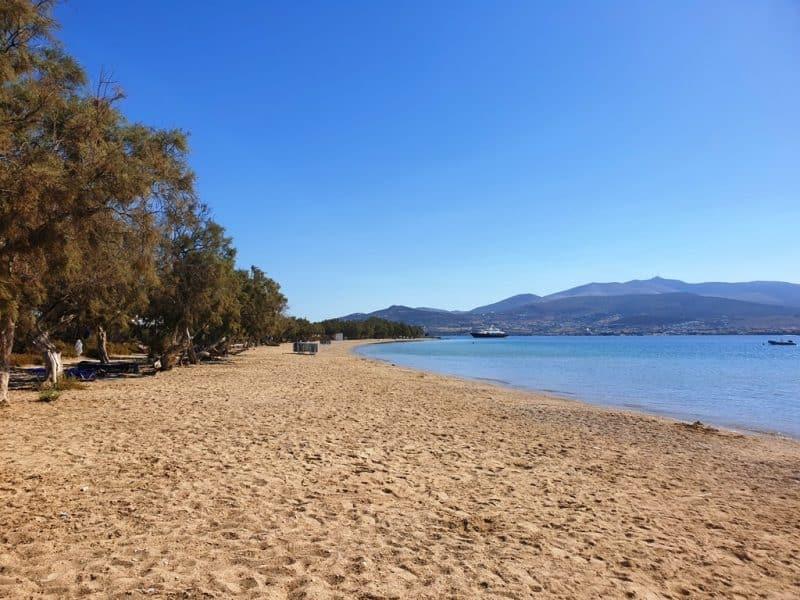 Psaralyki Beach in Antiparos