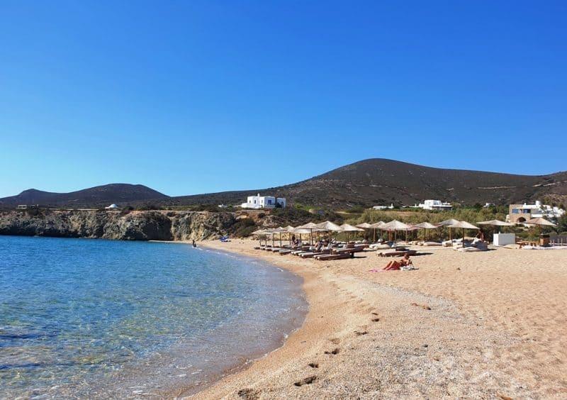 Soros Beach in Antiparos