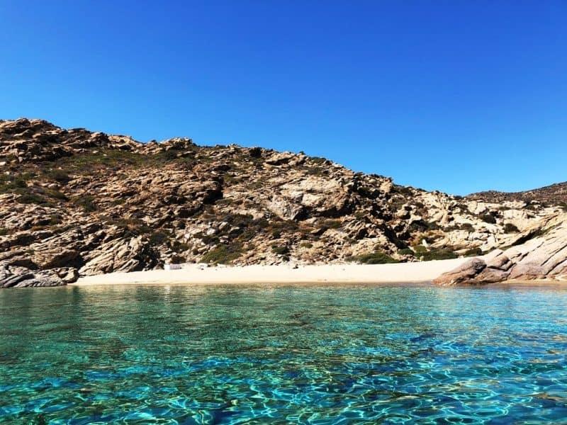Tripiti Beach in Ios