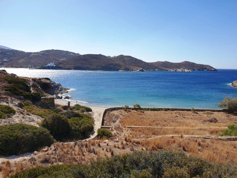 Tzamaria Beach in Ios