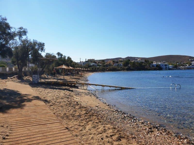 Voulgari Beach - Syros Beaches