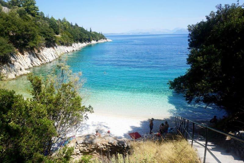 Kourvoulia Beach Ithaca