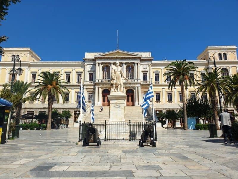 Miaouli Hall Ermoupoli Syros