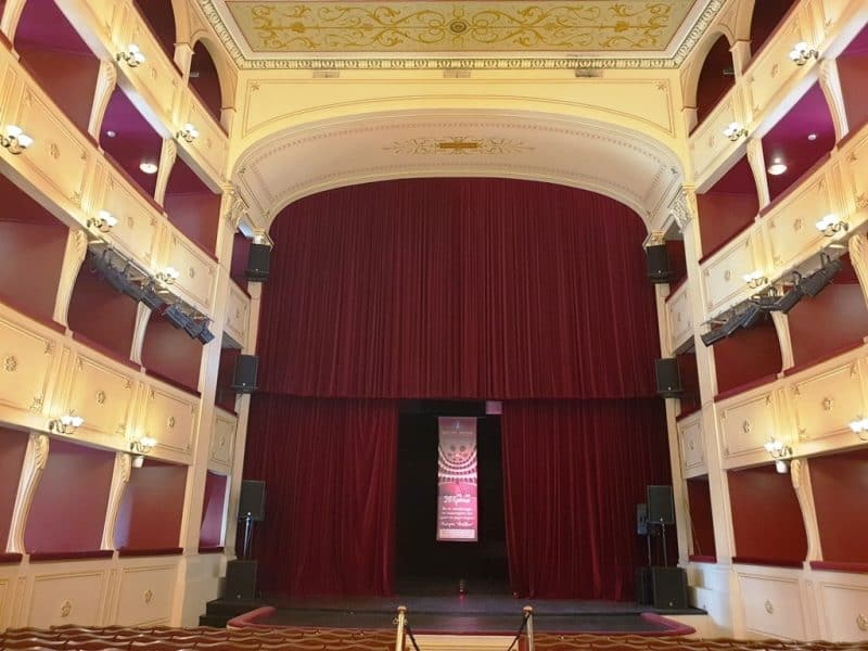 Apollo theatre in Ermoupolis