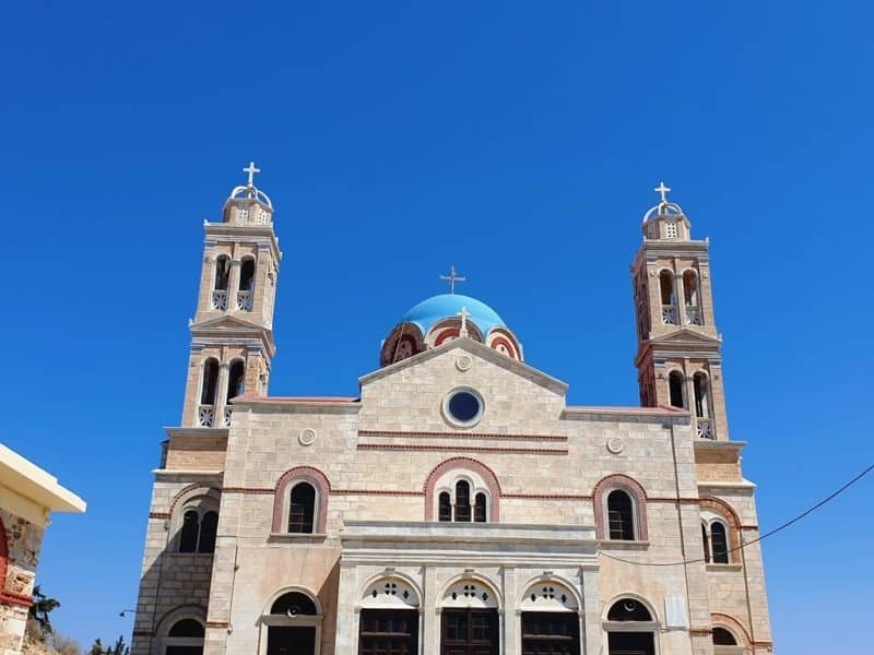 Resurrection of Christ Church in Ermoupolis