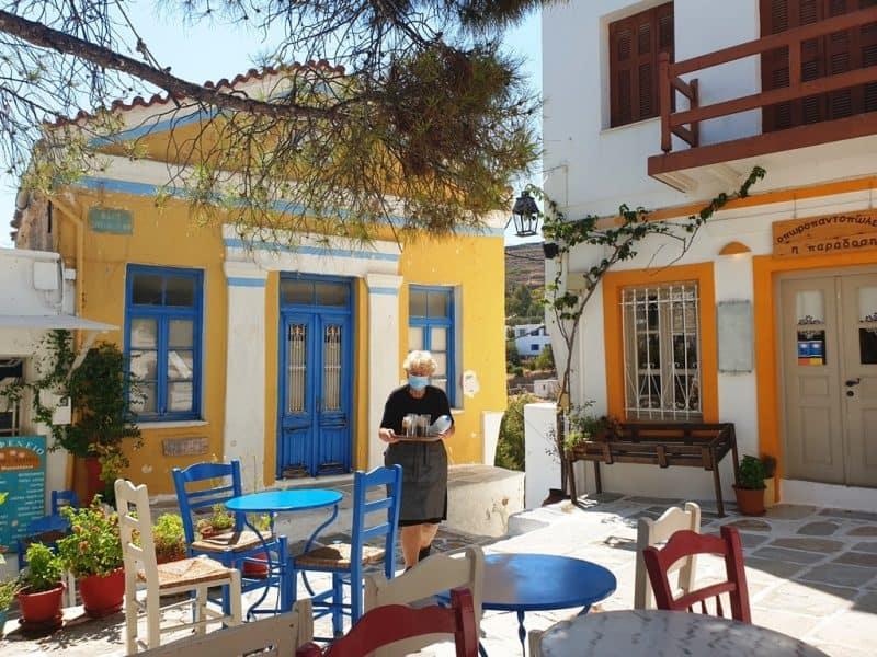 Lefkes Village Paros