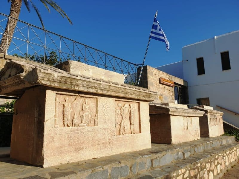 Archeological Museum in Parikia Paros