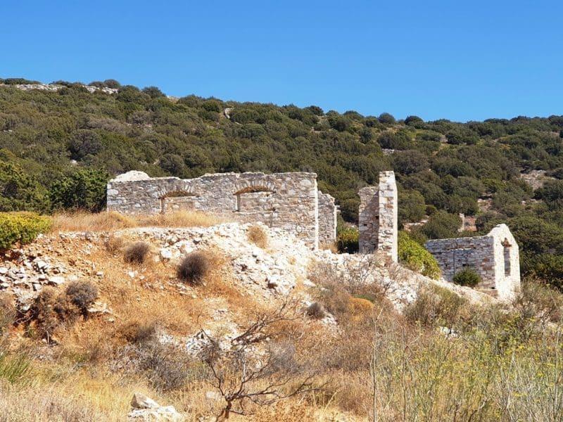 Marble quarries in Paros