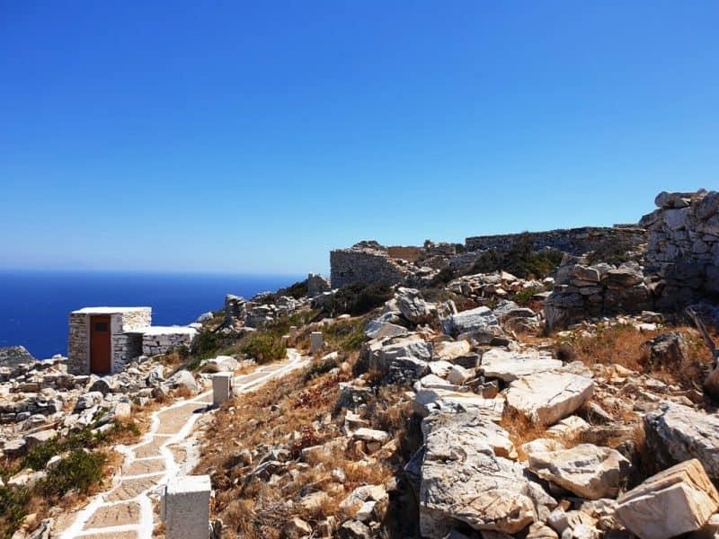 Byzantine Castle of Paleokastro  - Things to do in Ios