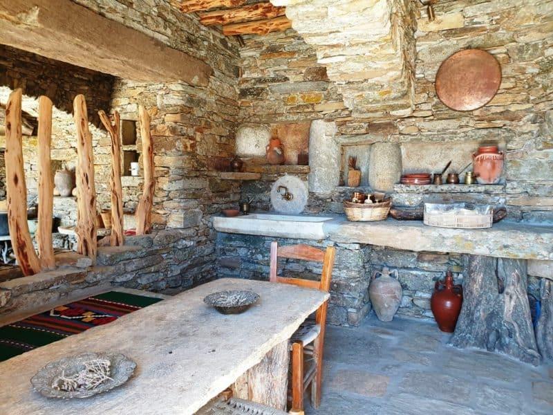 Diaseli Cheesery in Ios Greece