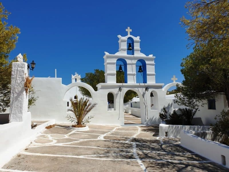 Monastery of Agios Ioannis of Kalamos - Things to do in Ios