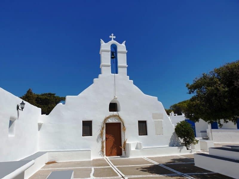 Monastery of Agios Ioannis of Kalamos on Ios