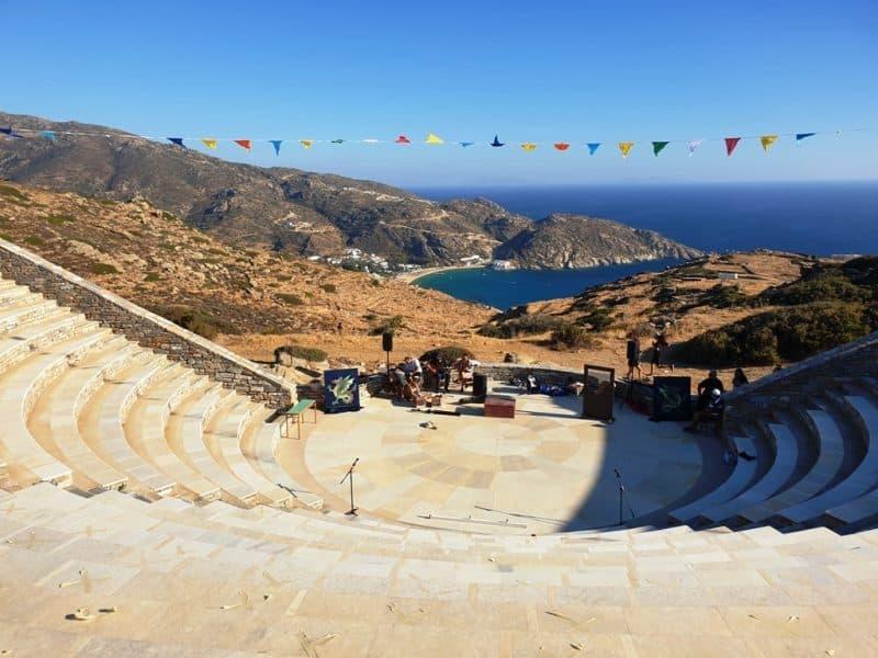 Odysseas Elytis Theatre = Things to do in Ios