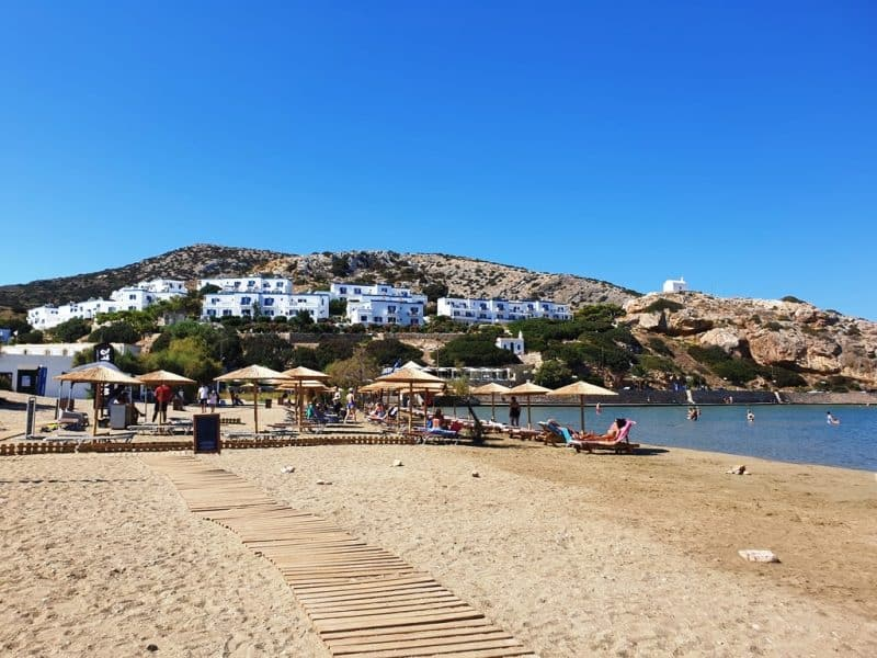 Galissas Beach Syros