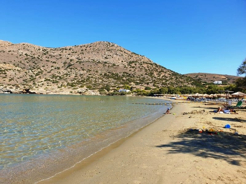 Galissas Beach Town Syros