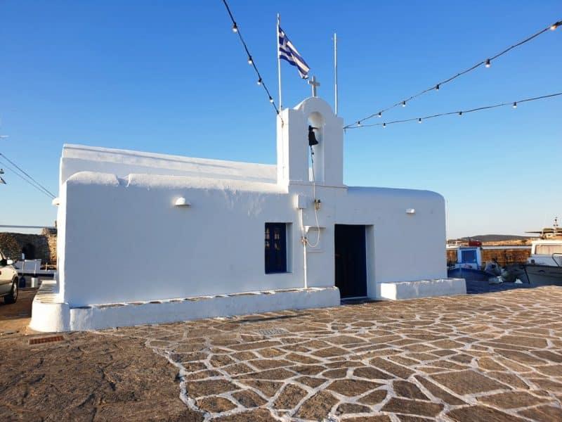Church of St Nicholas Naoussa Paros