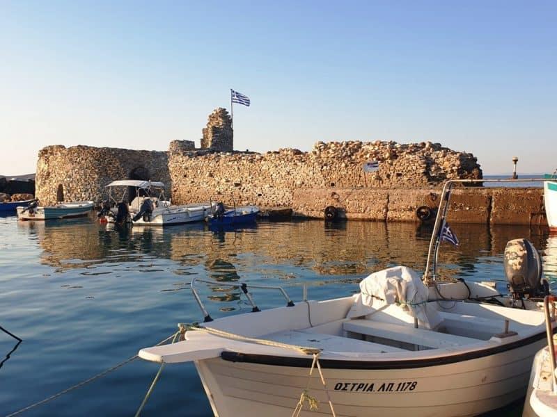 Venetian Castle Naoussa Paros