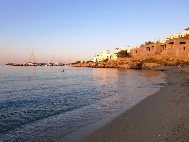 Piperi Beach Naoussa Paros