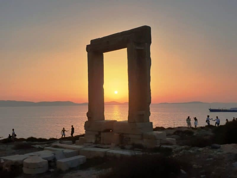 Portara Naxos Chora - visit on your 10 day Greece itinerary