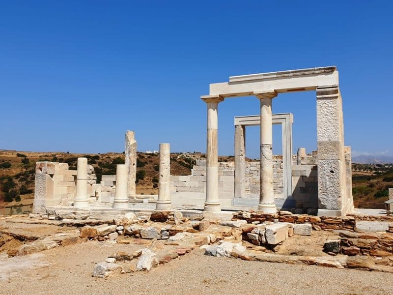 Dimitra Temple - what to do in Naxos