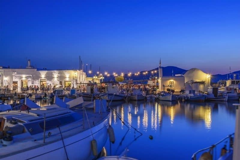 Naxos or Paros which is better Paros nightlife